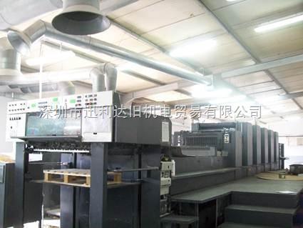 CD102-5+LX-进口小森四开六色新款印刷机