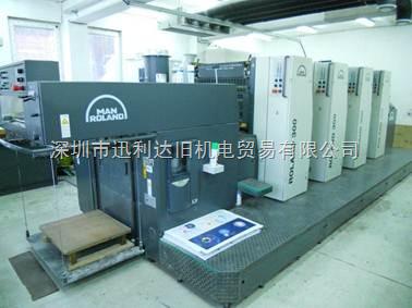 2003年罗兰R304HOB四开四色印刷机